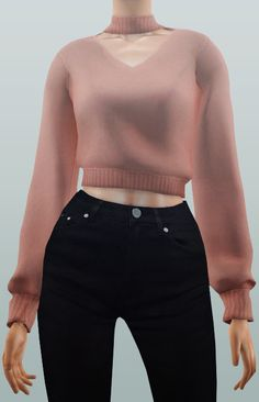 Neillan — Tops: -The Sims 2 / AF Cropped Turtleneck / 4...