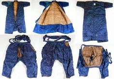 Antique samurai yoroi hitatare (under armor clothing).