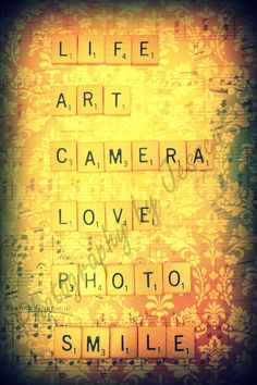 Life Art Camera Love Photo Smile