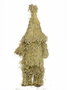 """""""Whittlesea Straw Bear"""" from the 'British Folklore Portraits' series by Henry Bourne, in collaboration with Simon Costin of the Museum of British Folklore"""