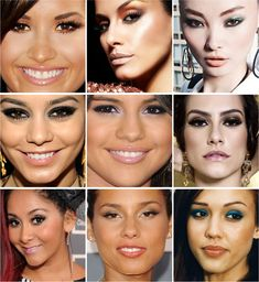 ideas of makeup for brown eyes (portuguese)