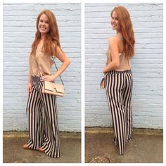 Life of Luxury Palazzo Pants www.honeyandhiveboutique.com