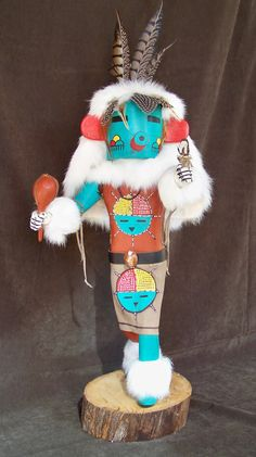 Vintage Hopi 22 Inch Early Morning Kachina Doll By O by SanMonet, $2500.00
