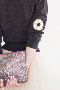 Doughnut Elbow Patches | Studio DIY