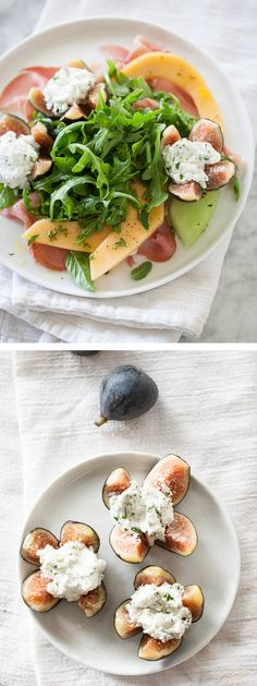 All the makings with fresh ingredients from the farmer's market, plus proscuitto! #recipe #salad