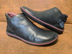 ed3de03855676e PO With Box Men s Camper Beetle Black Leather Shoes Size 9 Euro 42  fashion