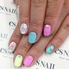 """#esnail #nail #nails #nailart #esnails #nailgram #nailsalon #notd #nailartist #japanesenailart #trend #gelnail #la #beverlyhills #westhollywood #melrose…"""