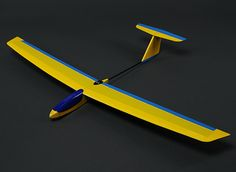 HobbyKing™ Guppy Mini Slope Glider Balsa 1165mm (PNF)