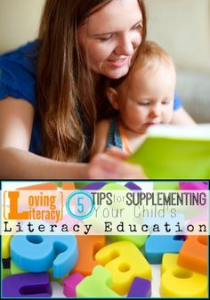 5 Tips for Supplementing Your Child's Literacy Education | Tipsaholic.com