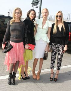 Claire, Virginie, Jenna & Prisca Courtin-Clarins - Page 9 - the Fashion Spot