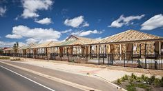 THE FUTURE-  This photo is of housing from the Playford Alive future development. This is basically the same thing happened in the 1960's, they began a new development that ultimately did not fulfil it's potential. It's like history repeating themselves. Hopefully, with a better outcome this time around.