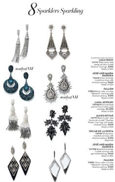 Neiman Marcus Cataloge tear sheets with Jose and Maria Barrera jewelry Bead Jewellery, Jewelry Art, Jewelry Ideas, Beaded Jewelry, Handmade Jewelry, Jewelry Design, Starburst Earrings, Gold Statement Earrings, Neiman Marcus Christmas Book