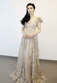 Fabulously Spotted: Fan Bingbing in Elie Saab Couture – 2016 Zhejiang New Year's Eve Concert