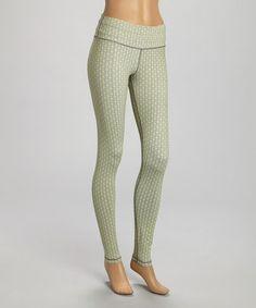 Look at this #zulilyfind! Gray Dot Vive Leggings by Luxy Activewear #zulilyfinds