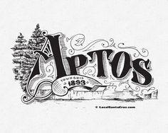 Victorian Santa Cruz by nomBat Branding Typography, Lettering, Calligraphy Letters, Victorian, Branding, Illustration, Inspiration, Tattoo, Art