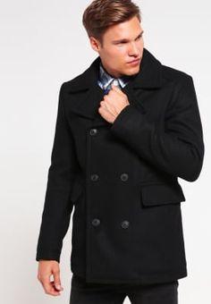 Selected Homme Krótki płaszcz - black za 589 zł (11.10.16) zamów bezpłatnie na Zalando.pl.