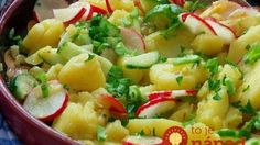 Salata od krumpira i rotkvice — Coolinarika Appetizer Salads, Appetizers, Potato Salad, Potatoes, Ethnic Recipes, Pastries, Salads, Appetizer, Potato