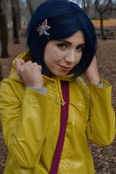 Coraline to go along with her creepy 'other mother' on this board. :) http://cosplaycollections.blogspot.com