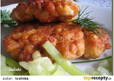Kuřecí rarášci recept - TopRecepty.cz Tandoori Chicken, Ham, Good Food, Food And Drink, Menu, Treats, Sweet, Ethnic Recipes, Decor