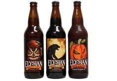 Elysian Brewing Pumpkin Beers, had the one on the left last night.... Best pumpkin beer yet, better than Bristol's!