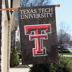 Texas Tech Red Raiders House/Porch Embroidered Banner Flag 44X28