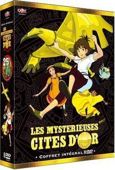 Les mysterieuses cites d'or en DVD NEUF BLISTER
