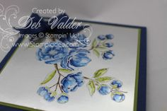 Blendabilities, NEW PRODUCT and Foil Sheets taught to you by Deb Valder WOO HOOO www.stampladee.com