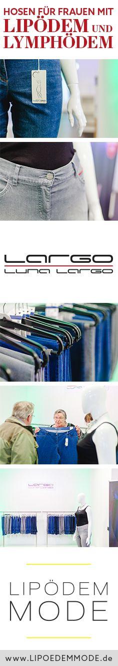 Luna Largo – Die Hosen für Frauen mit Lipödem und Lymphödem Lipoedema Lipedema Fashion Jeans Pants Ödem Plussize Stretch Plus Size Dicke Beine Reiterhose Waden