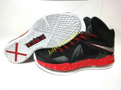 newest collection 5bf07 5396a an aesthetic appreciation of the Nike LeBron X Elite Black Varsity Red Red  Medal