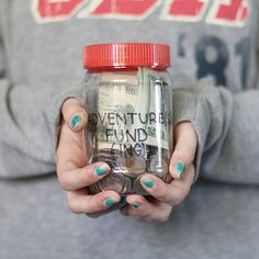 save up for an adventure.