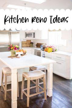Kitchen reno ideas. Kitchen ideas. Kitchen decor. Home decor ideas.