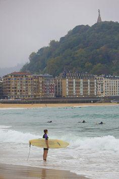 Do you like surf? #surf #SanSebastian