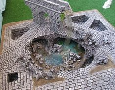 Crumbling Water Architecture