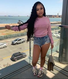 Swag Outfits For Girls, Dope Outfits, Girl Outfits, Casual Outfits, Fashion Outfits, Fashion Ideas, Bad Girls Club, Streetwear Fashion, Black Girls