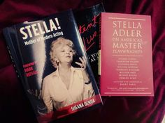 "Essential reading for any Adler fan or lover of art/theatre!!!   The first biography of Stella Adler by Sheana Ochoa, ""STELLA! Mother of Modern Acting"", and ""Stella Adler on America's Master Playwrights"" - thrilling and insightful transcribed lectures by Adler compiled and edited by Barry Paris.   It doesn't get better than this! :)"