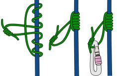 Prusik Knots: How To Tie Different Types of Prusiks - VDiff Climbing Prusik Knot, Climbing Rope, Different Types, Hunting Stuff, Bow Hunting, Survival Skills, Knots, Camping Hammock, Tie