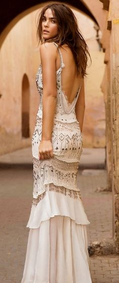 Kleidung Mode Dressing solche Indie Boho Frisur, ob Boho Fashion Trends 2018 lange Boho Chic Style E Street Style Boho, Bohemian Style, Bohemian Design, Pretty Dresses, Beautiful Dresses, Gorgeous Dress, Mode Hippie, Glamour, Inspiration Mode