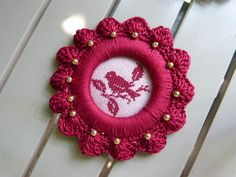 Invitation au jardin - Stitcheraddict 2
