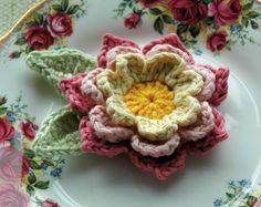 Crochet Flowers - eye candy
