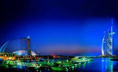 Jumeirah Beach Hotel Dubai HD Wallpaper