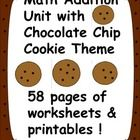 This is an addition unit with a chocolate chip cookie theme.  There are 58 pages in this download. Great for centers $4.00