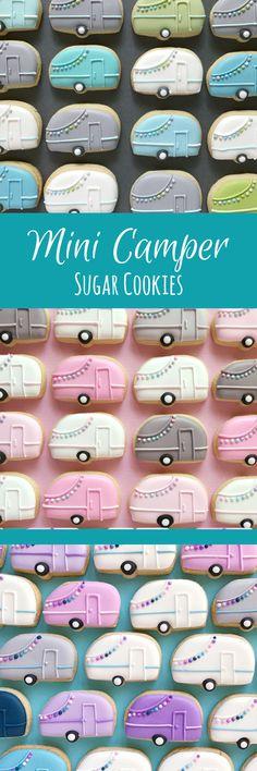 Camper Sugar Cookies- MINI #affiliate