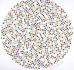 Damien Hirst, Valium (2000) DAMIEN HIRST  ‡ Valium, 2000    Offset lithograph in colors  50 × 50 in  127 × 127 cm