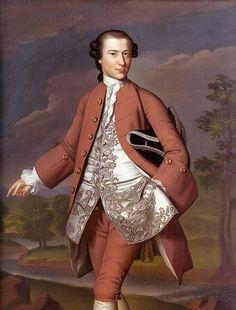 Theodore Atkinson, c. 1757-58, by John Singleton Copley