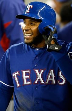 Elvis Andrus:)love him. He signed me sweatshirt and key chain. The nicest guy ever.