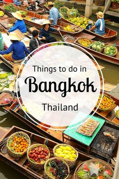 Things to do in Bangkok - where to eat, sleep, drink, shop, explore and much more!