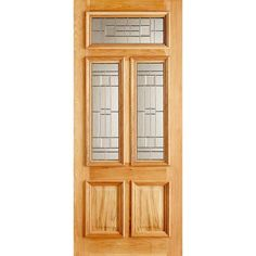 We design and manufacture high-quality wooden front doors in both period & modern styles. Our bespoke wooden doors are handmade in Nottingham (UK delivery). Oak Front Door, Wooden Front Doors, Entrance Doors, Old English, Tall Cabinet Storage, Elegant, Outdoor Decor, Modern, Design