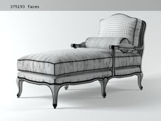This French vintage chaise is such a beautiful accent piece for a bedroom