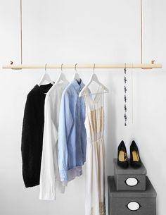 Gör det själv: Bygg din egen klädhängare