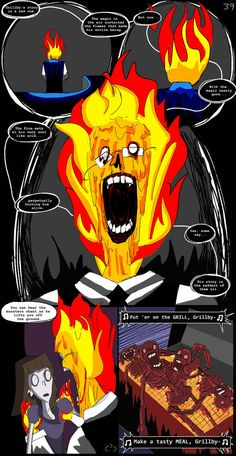 Apologies to all Grillby lovers. This is not his AU. Next: 9.10ish Prev:Dinner Time New? View the first pagehere.